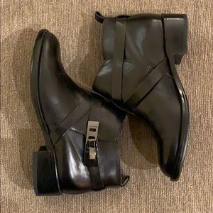 French Connection Yuri Buckle Ankle Booties